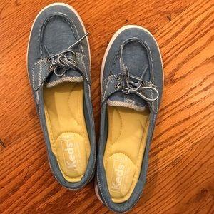 NWOT Keds Boat Shoe, Blue